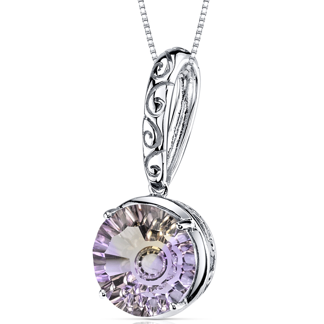 peora Ametrine Pendant 14Kt White Gold 4.6 Cts P9226 at Sears.com